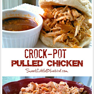 Crock-Pot Pulled Chicken
