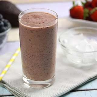 Avocado & Berry Smoothie