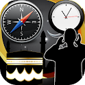 Azan Time Prayer Time Qibla icon