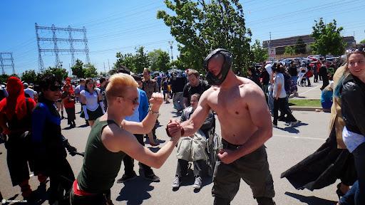 GUILE vs BAIN in Toronto, Ontario, Canada