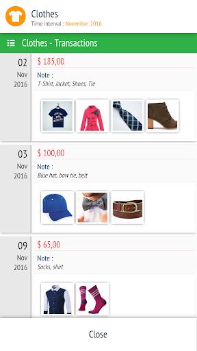 Expense Manager - Tracker  screenshots 6