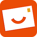 Popcarte - Send real postcard icon