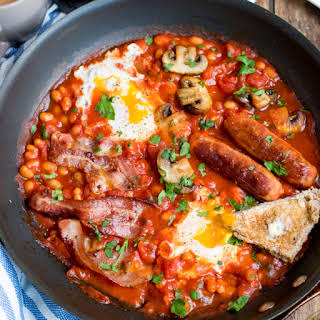 One-Pan English Breakfast.