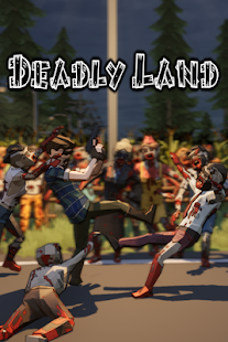 Deadly Land: First Person Zombie Shooter - FPS Screenshot