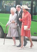 Photo: Archduchess Yolanda of Austria, Archduke Rudolf and Archduchess Marie Helene of Austria