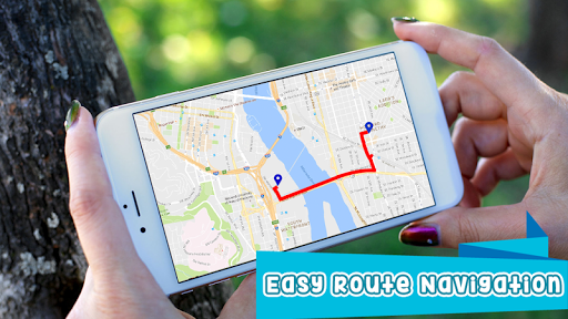GPS Route Finder : Maps, Navigation & Directions for PC