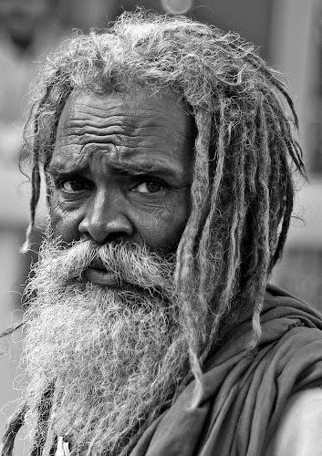 Portrait... by Kausik Das - People Portraits of Men ( canon, india, senior citizen, people, portrait, man )