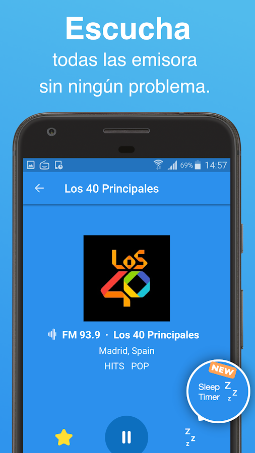 Simple Radio - FM & AM en Vivo: captura de pantalla