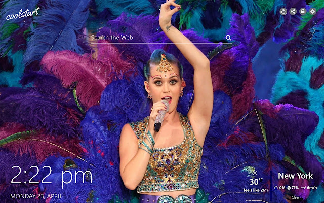 Katy Perry HD Wallpapers New Tab Theme
