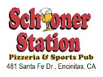 Logo for Schooner Station Pizzeria & Sports Pub