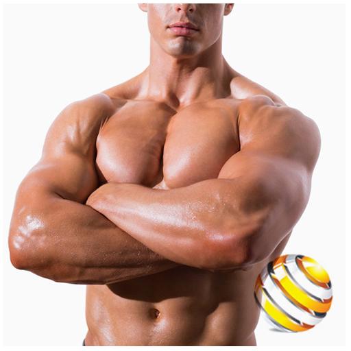 胸のワークアウトガイド 健康 LOGO-玩APPs