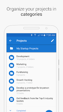 Chaos Control: Task List & GTD 1.7.1 screenshot 562435