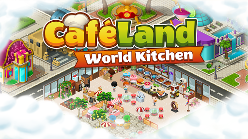 (APK) تحميل لالروبوت / PC Cafeland - World Kitchen ألعاب screenshot