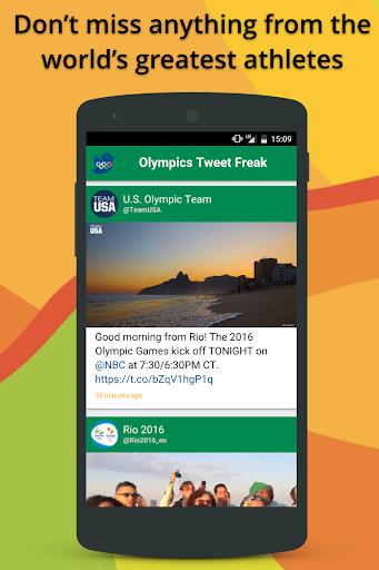 Rio 2016 Olympics Tweet Freak