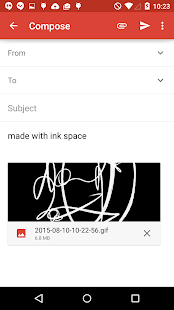 Ink Space Screenshot