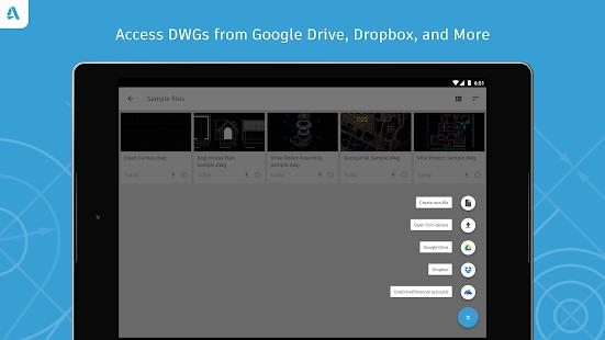 AutoCAD - DWG Viewer & Editor Screenshot