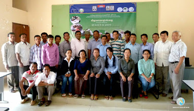 Photo: Group photo - Participants from Kampot province