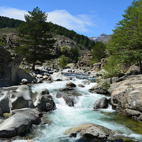 by Molnar Csilla - Landscapes Waterscapes ( water, mountain, rock, flow, river,  )