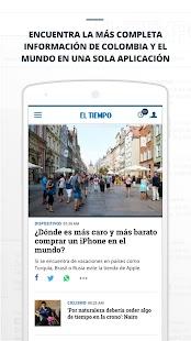EL TIEMPO - náhled