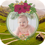 Beautiful agriculture photo frame application