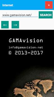 GamaOS - náhled