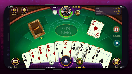 Gin Rummy - Online Card Game android2mod screenshots 6
