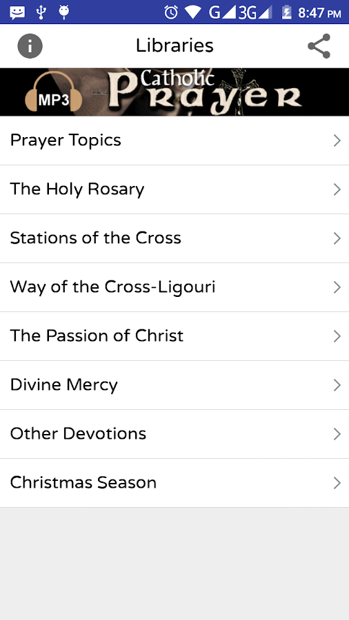 Audio Catholic Prayer- screenshot