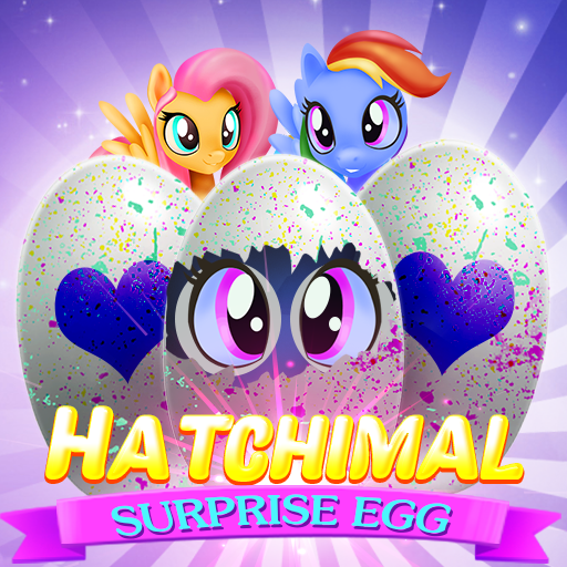 Hatchimal Surprise Egg Bubble Shooter