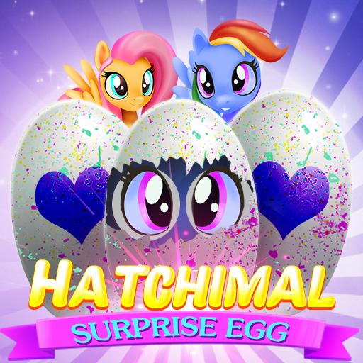 Hatchimal Surprise Egg Bubble Shooter (game)