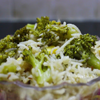Broccoli Pulao - Broccoli Rice