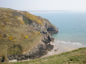 Photo: From Broad Haven to Solva (Porthmynawyd)