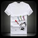 T-Shirt Photo Suit Montage icon