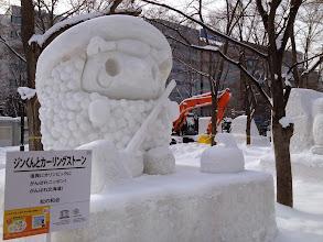 Photo: Curling sheep?
