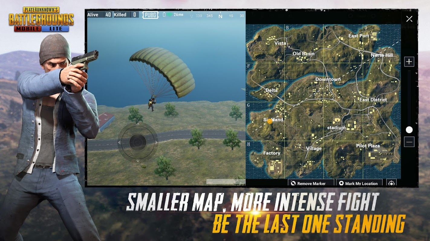 PUBG MOBILE LITE screenshots