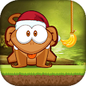 Cut The Banana: Free Monkey Rope Wrench Game icon