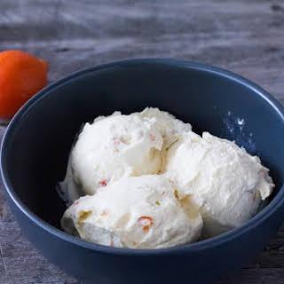 Kumquat Soft Serve Ice Cream.
