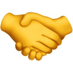 Handshake Emoji (U+1F91D)