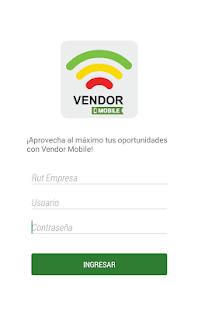 Vendor Mobile - náhled