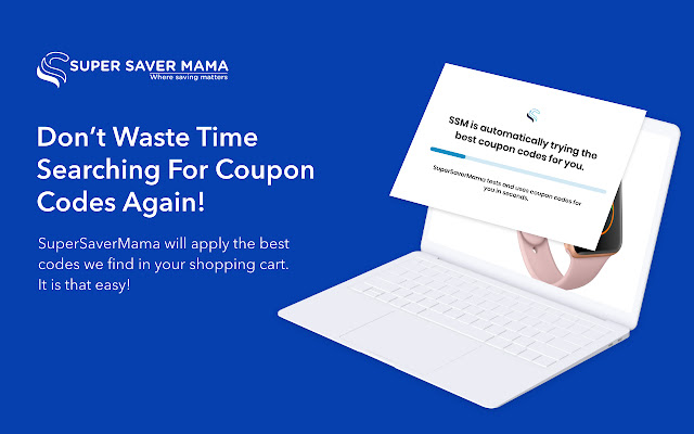 SuperSaverMama - Automatic Coupon at Checkout