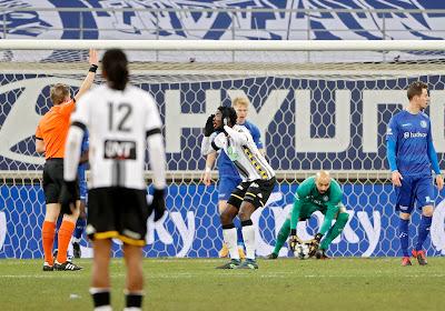 Coupe de Belgique: La Gantoise ferme la porte au Sporting de Charleroi