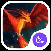Fire Phoenix APUS theme