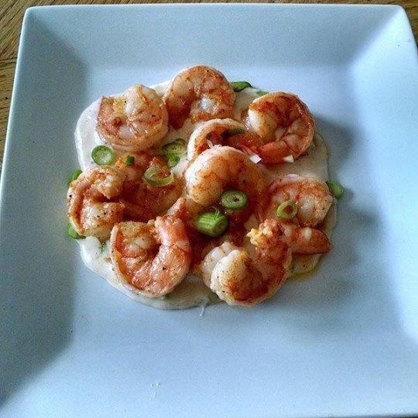Cajun Shrimp With Creamy Sauce Recipe