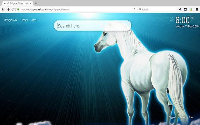 Unicorns Magic Horse HD Wallpaper
