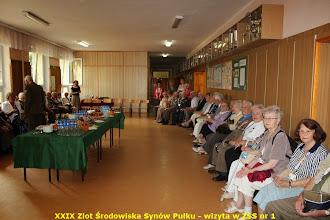 Photo: Wizyta w Zespole Szkół Sportowych nr 1 im. Synów Pułku uczestników XXIX Ogólnopolskiego Zlotu Środowiska Synów Pułku (6 lipca 2014)