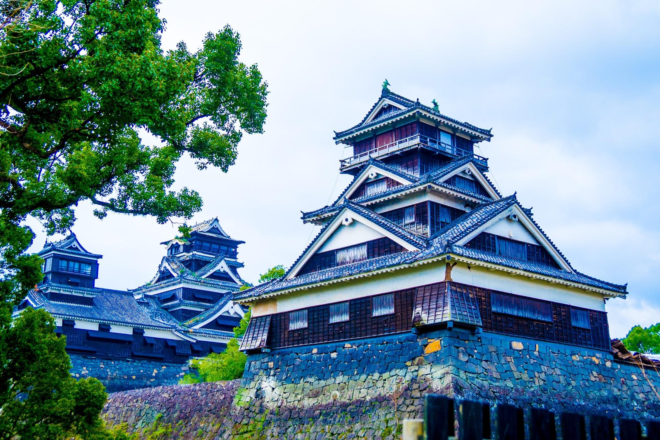 熊本城 加藤神社 天守閣・宇土櫓