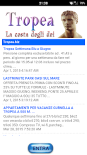 Tropea.biz- screenshot thumbnail