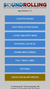 Soundrolling Location Sound App- screenshot thumbnail