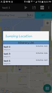 Jumping Location Fake Location v1.0