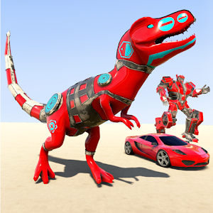 Dino Robot Car Game: Dinosaur Robot Transform hero for pc