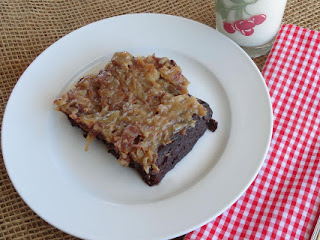 Light German Chocolate Cake Recipe